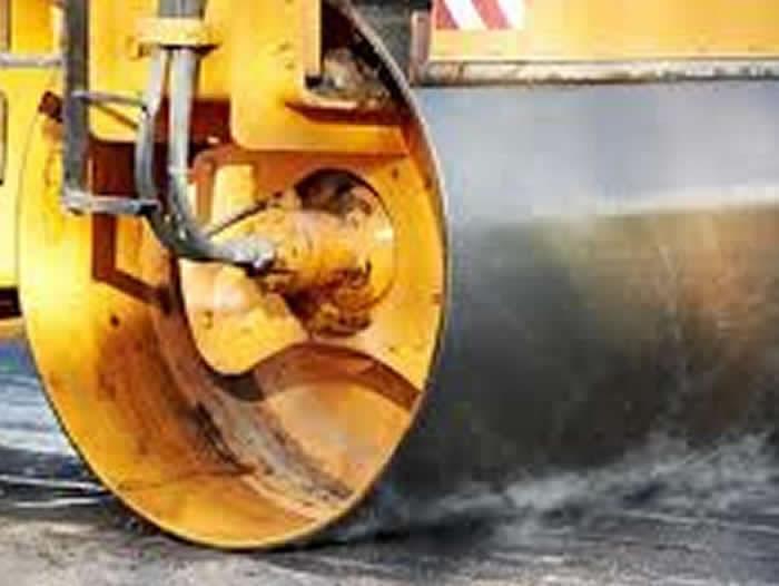 Dhandhuka Barwala road SH No.36 K m 105/0 to 137/8 (Selected Length) Providing 37.5 mm B.S.G, 50mm BM 25mm SDBC, Hard side shoulder, road furniture work