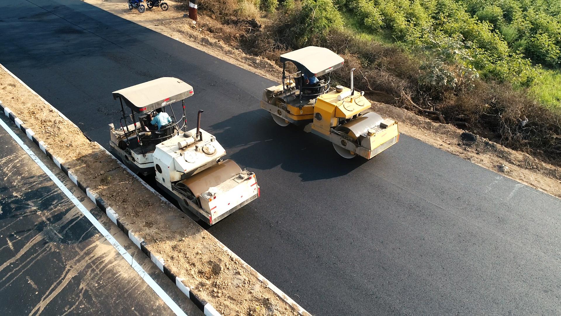Construction of Four Lane Road Danta-Ambaji road Km.90/0 to 112/510,Dist-Banaskantha